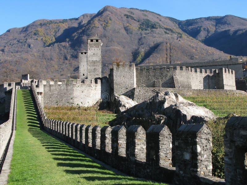Fortifications antiques photographie stock libre de droits