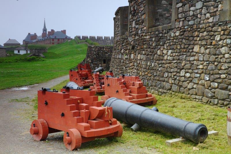 Fortifications démodées photo stock
