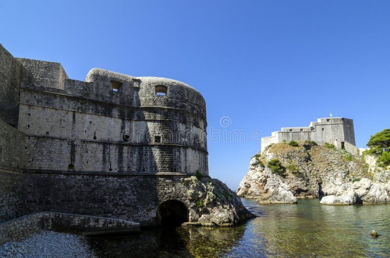 Fortifications de Durbovnik image stock
