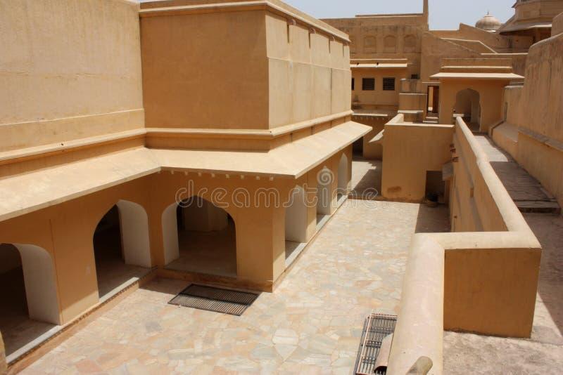 Fortificazione ambrata fotografia stock