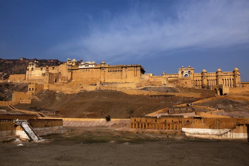 Fortificazione ambrata immagine stock