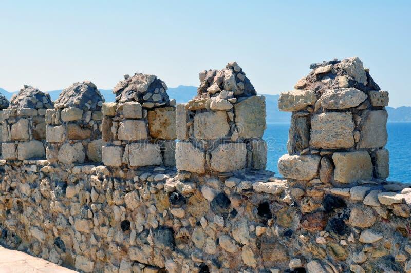 Fortificazione: Castello veneziano (Koules) fotografie stock