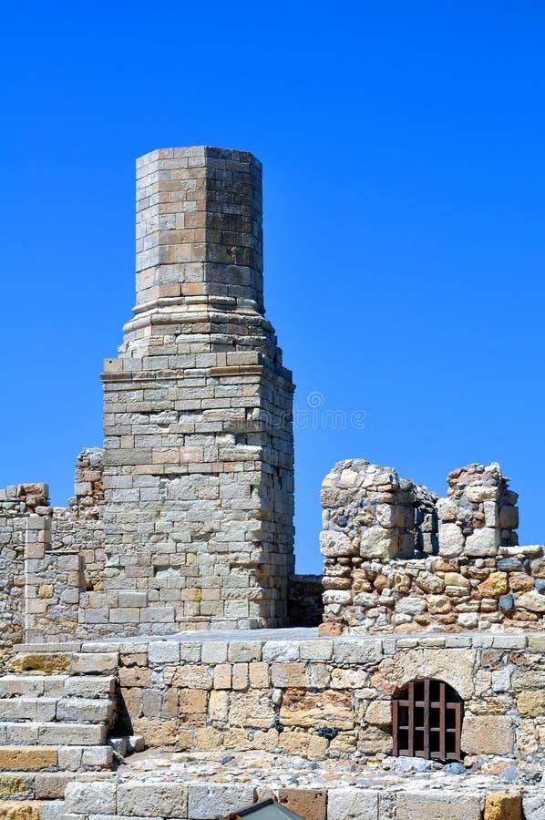 Fortificazione: Castello veneziano (Koules) fotografia stock