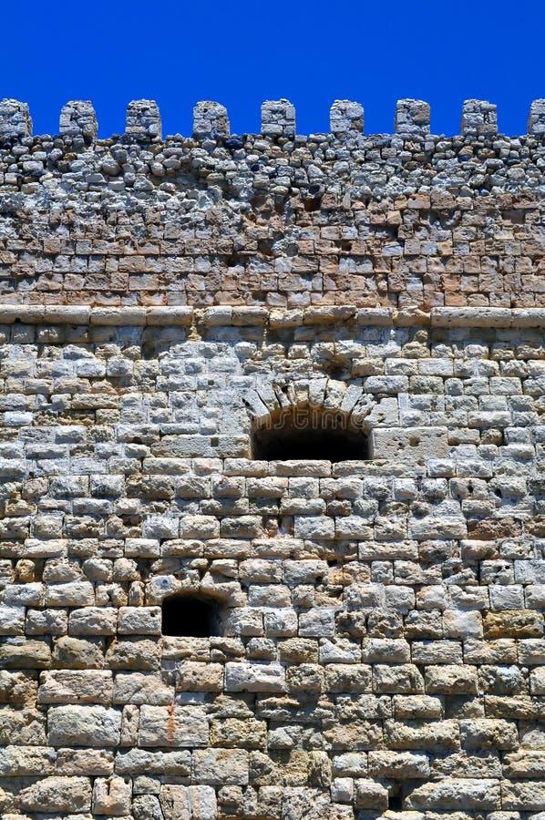 Fortificazione: Castello veneziano (Koules), in Crete. immagini stock libere da diritti