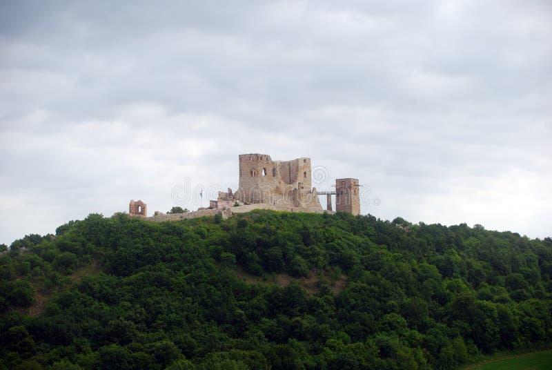 Fortificazione, Csesznek, Ungheria fotografia stock