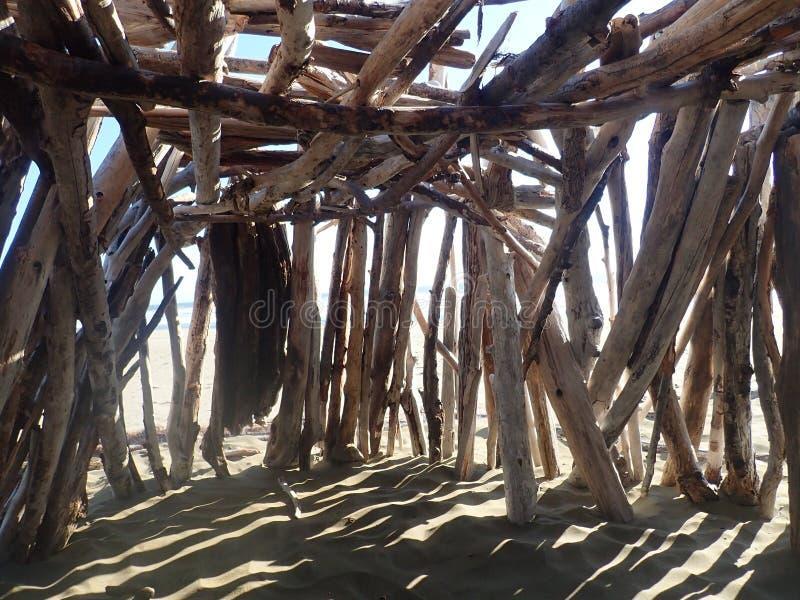 Fortificazione del legname galleggiante immagine stock