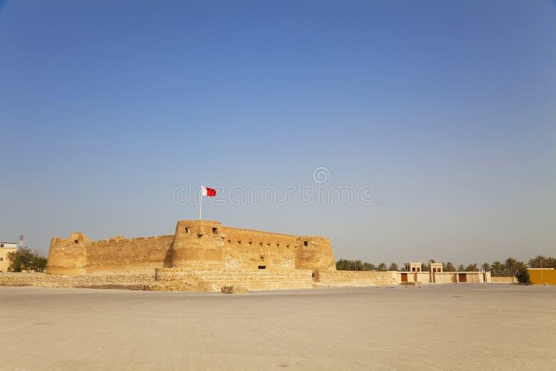 Fortificazione di Arad, Manama, Bahrain fotografia stock libera da diritti