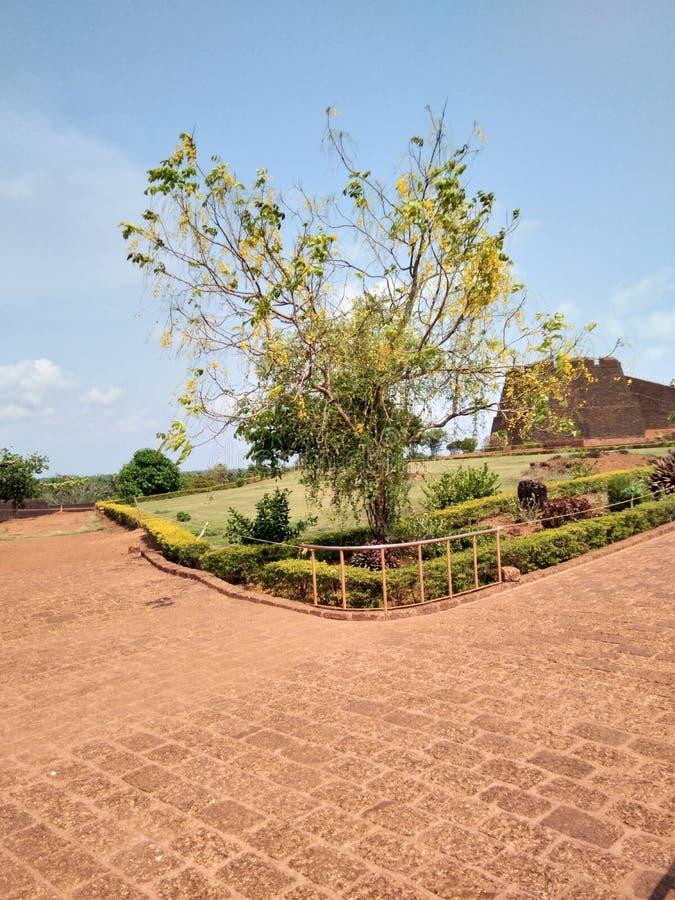 Fortificazione di Bekal fotografie stock libere da diritti