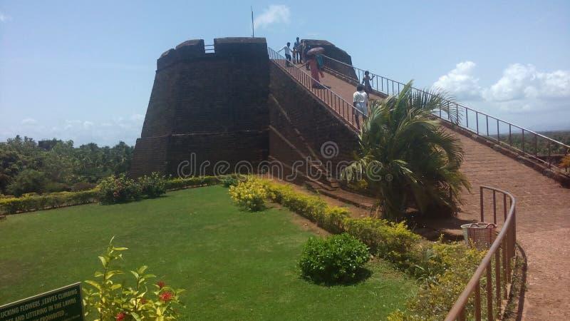 Fortificazione di Bekal fotografia stock