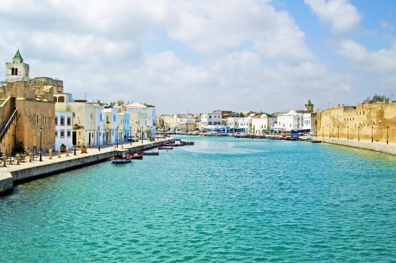 Fortificazione di Biserta, Tunisia fotografia stock libera da diritti