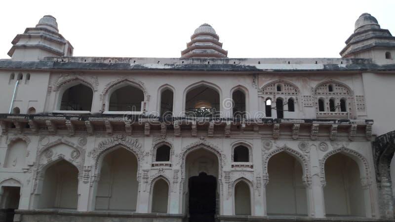 Fortificazione di Chandragiri, Andhra Pradesh/India - 10 febbraio 2019: Palazzo o fortificazione di Chandragiri vicino al tirupat fotografia stock