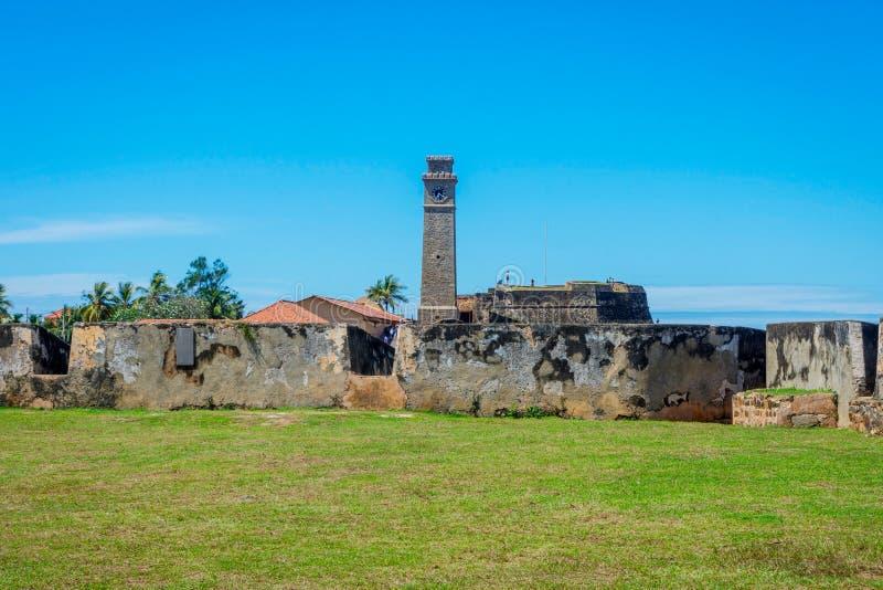 Fortificazione di Galle, Sri Lanka fotografie stock libere da diritti