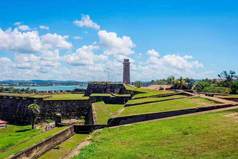 Fortificazione di Galle, Sri Lanka immagini stock