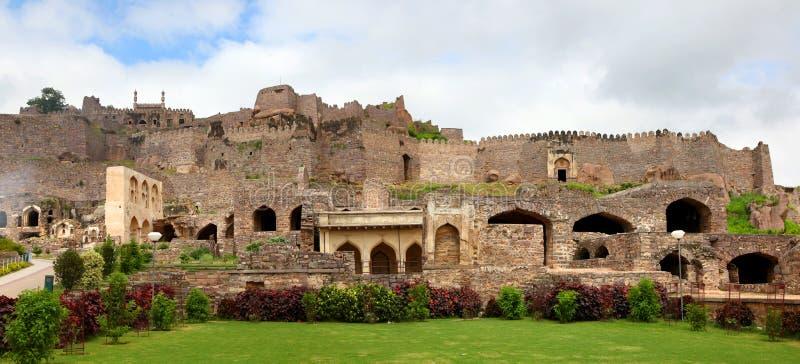 Fortificazione di Golkonda fotografia stock