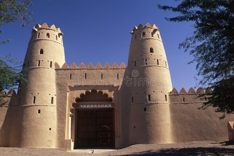 Fortificazione di Jahili di Al in Al Ain fotografia stock