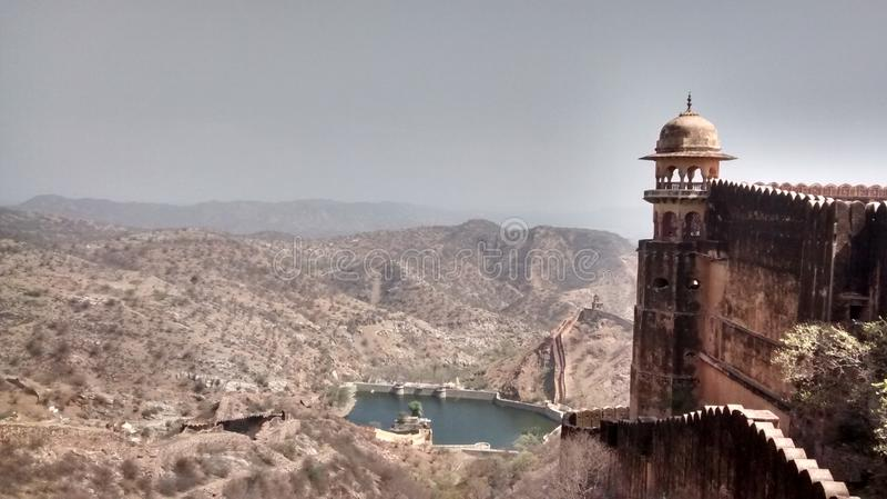 Fortificazione di Jaigarh immagini stock