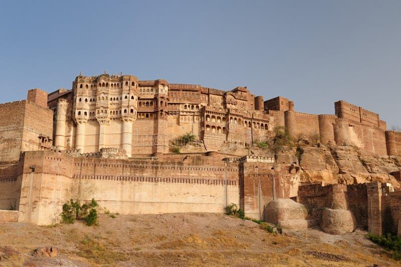 Fortificazione di Jodphur fotografie stock
