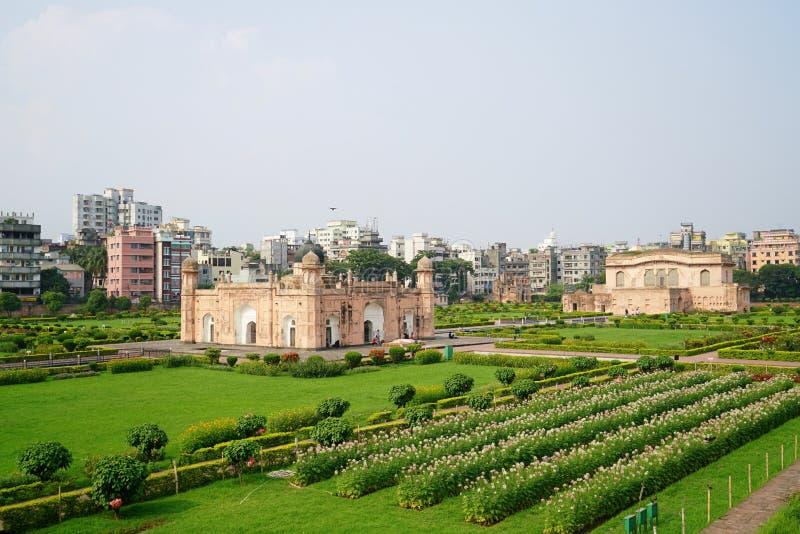 Fortificazione di Lalbagh, Dacca, Bangladesh immagini stock