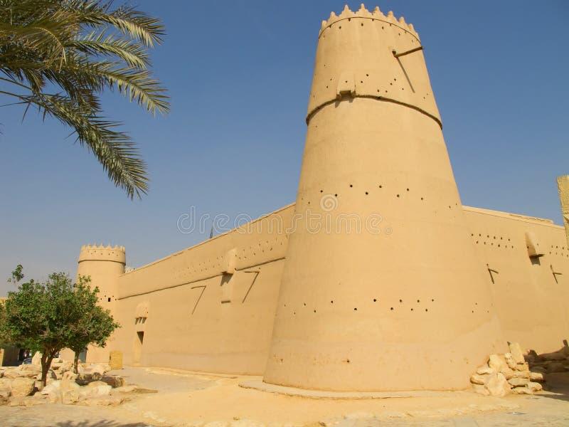Fortificazione di Masmak di Al immagini stock libere da diritti