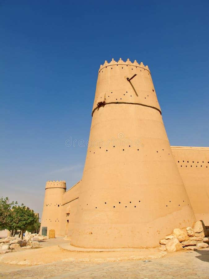 Fortificazione di Masmak di Al fotografie stock