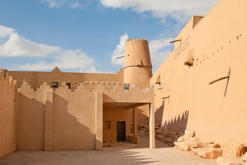 Fortificazione di Masmak di Al immagini stock