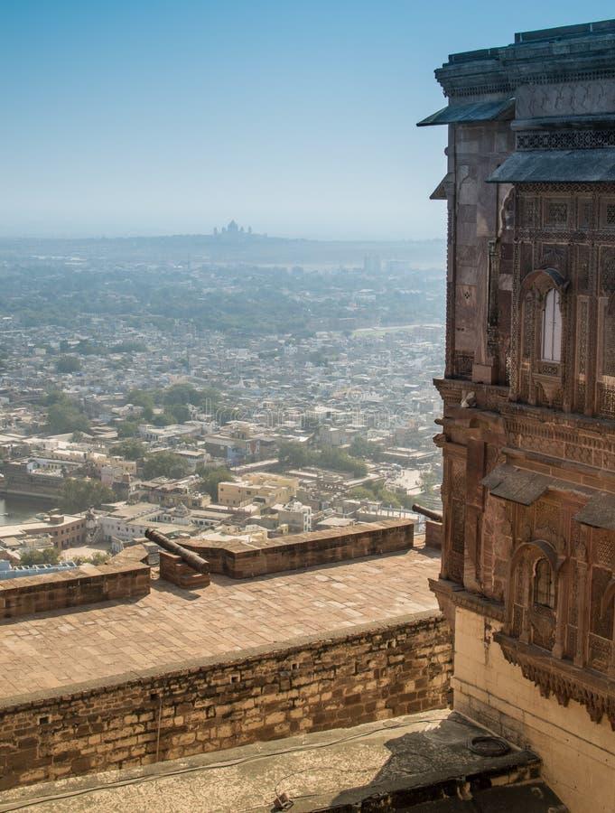 Fortificazione di Mehrangarh fotografie stock