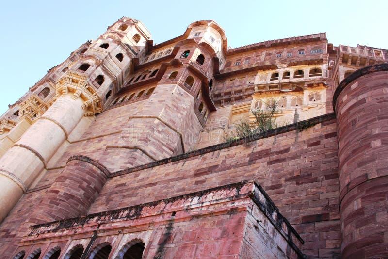 Fortificazione di Mehrangarh a Jodhpur immagini stock libere da diritti