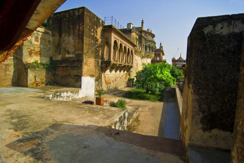 Fortificazione di Nagar della ram fotografia stock libera da diritti