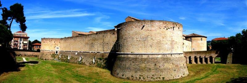 Fortificazione di Pesaro fotografia stock libera da diritti