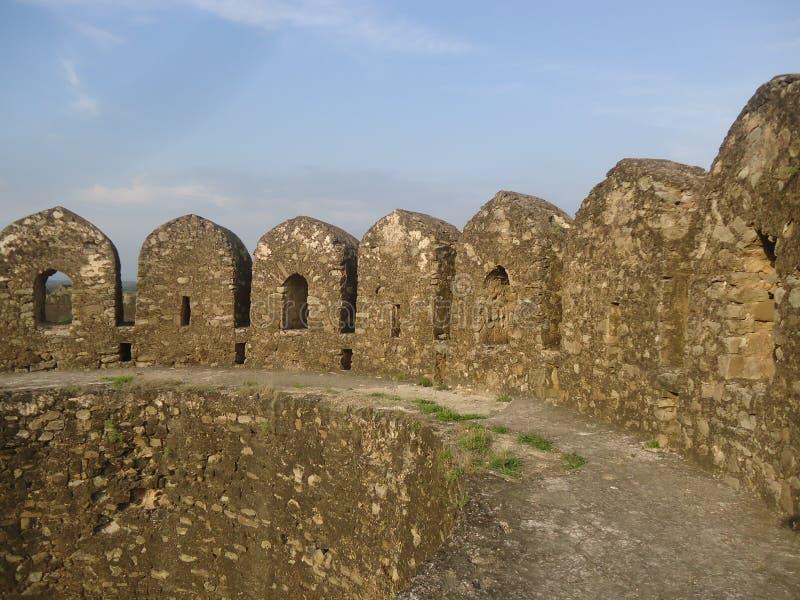 Fortificazione di Rohtas immagini stock