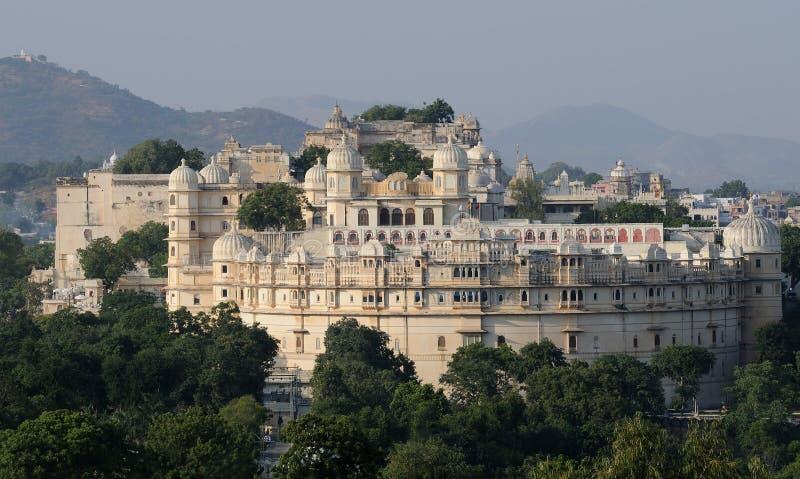 Fortificazione di Udaipur fotografia stock libera da diritti