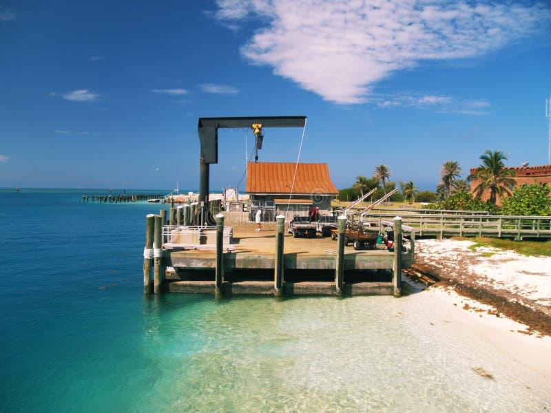 Fortificazione Jefferson - sosta nazionale asciutta di Tortugas fotografia stock