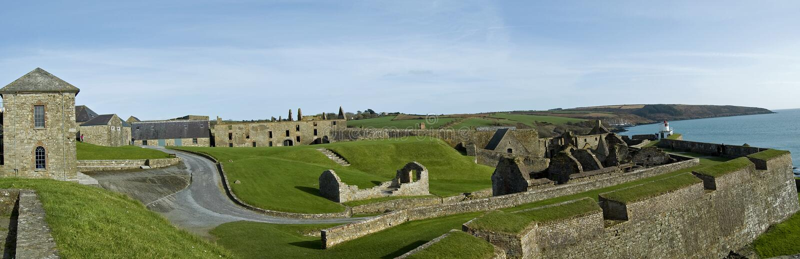 Fortificazione Kinsale del Charles immagine stock