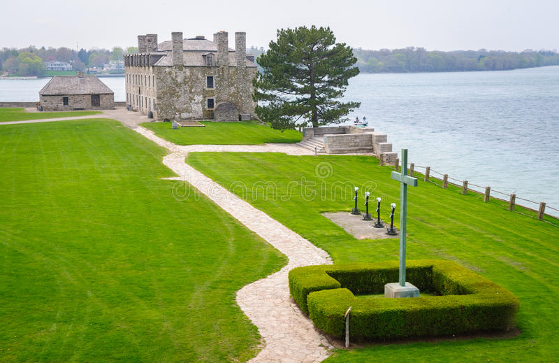 Fortificazione Niagara fotografia stock