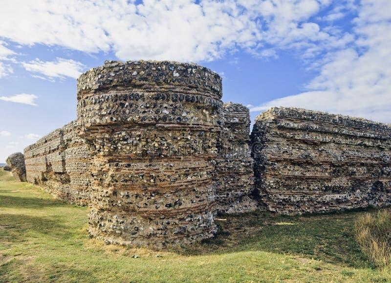 Fortificazione romana immagini stock libere da diritti