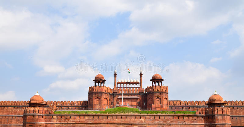 Fortificazione rossa fotografia stock libera da diritti