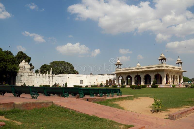 Fortificazione rossa a Delhi immagine stock libera da diritti