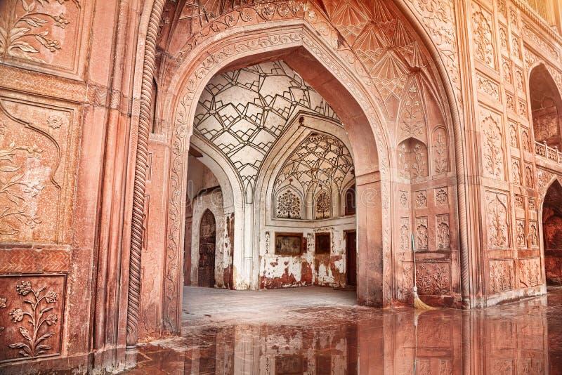 Fortificazione rossa in India immagine stock libera da diritti