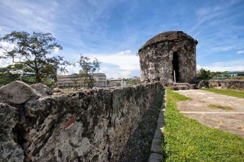 Fortificazione San Pedro, Cebu, Filippine fotografie stock libere da diritti