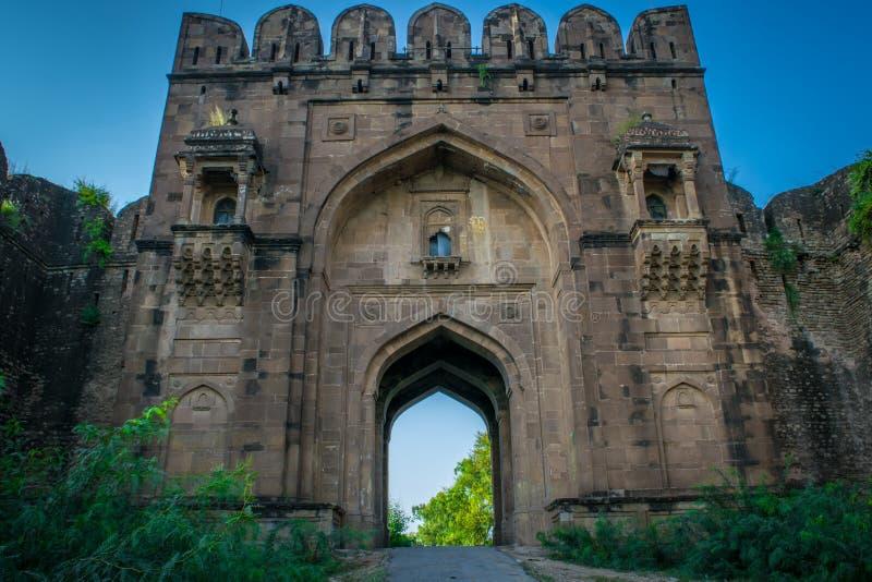 Fortificazione Sohail Gate di Rohtas fotografie stock