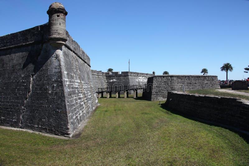 Fortificazione spagnola immagine stock libera da diritti