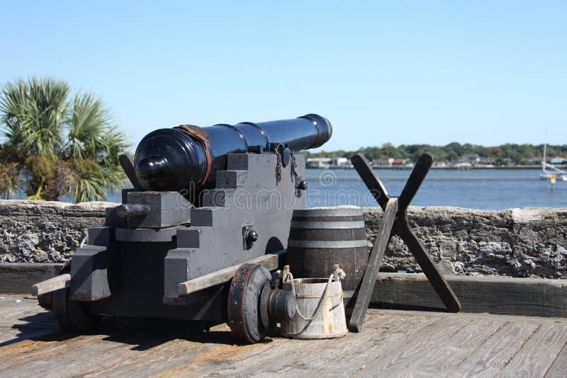 Fortificazione spagnola fotografie stock libere da diritti