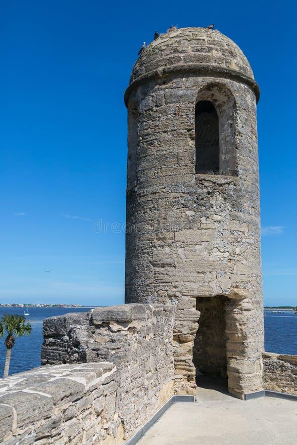 Fortificazione spagnola fotografia stock libera da diritti