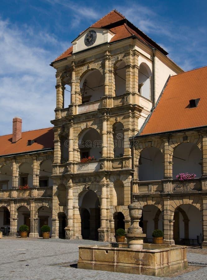 Fortifichi Moravska Trebova fotografie stock