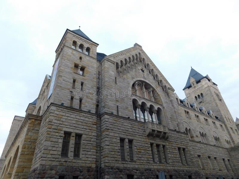 Fortifichi a Poznan immagine stock