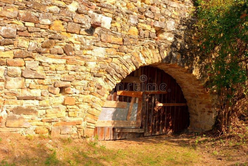Fortified medieval saxon evangelic church in the village TicuÅŸu Vechi, Deutsch-Tekes, royalty free stock photography