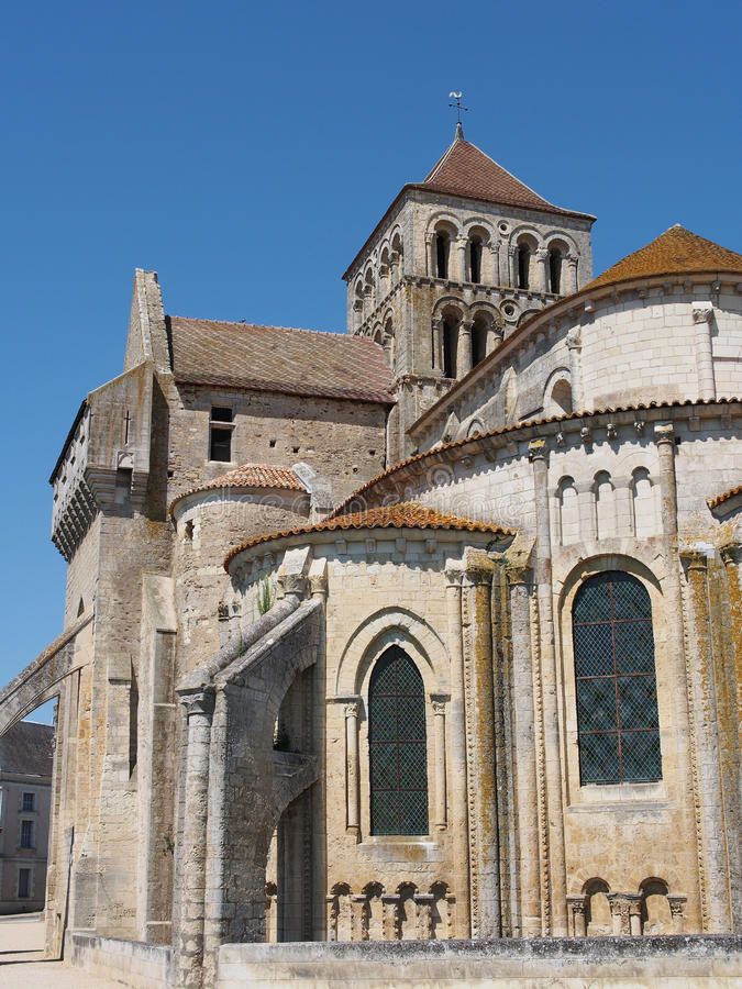 Download Fortified Saint Jouin  Abbey Church, France Stock Photo - Image: 25865386