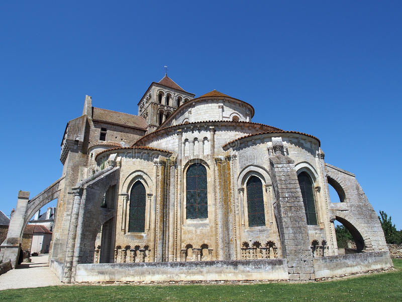 Download Fortified Saint Jouin  Abbey Church, France Stock Photo - Image: 25865398