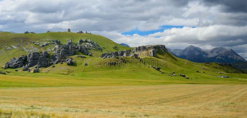 Fortifique o monte, parque nacional da passagem do ` s de Arthur foto de stock