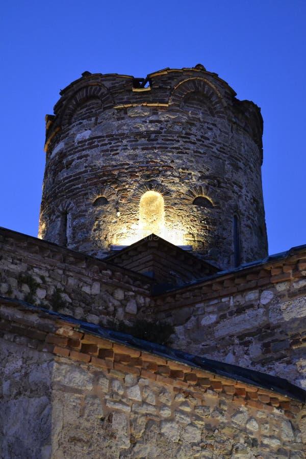 Fortifique ruínas fotografia de stock